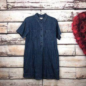 Madewell Denim Popover Dress